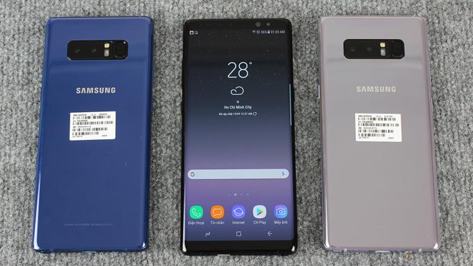 Samsung Galaxy Note 8 bản Hàn xách tay có gì đặc biệt hình 3