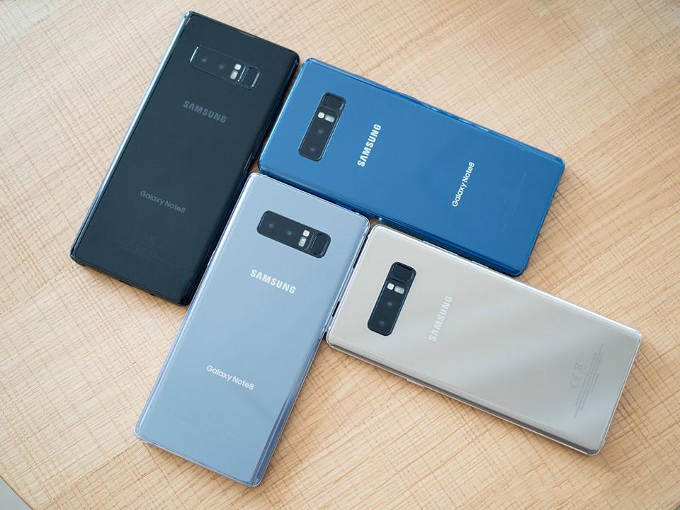 Samsung Galaxy Note 8 bản Hàn xách tay có gì đặc biệt hình 1